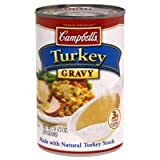 Campbell's Turkey Gravy with Natural Turkey Stock 10.5 oz