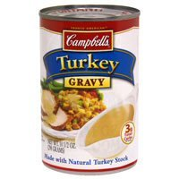 Campbell's Turkey Gravy with Natural Turkey Stock 10.5 oz
