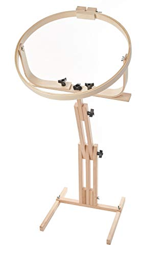 """Frank A. Edmunds Quilters Wonder! 18"""" Hoop with Adjustable Stand, 2645"""