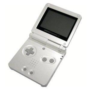 amazon com game boy advance sp pearl white computers accessories