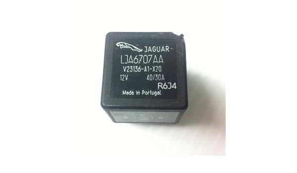 Oem Jaguar Relay 5 Terminals Lja6707aa Black