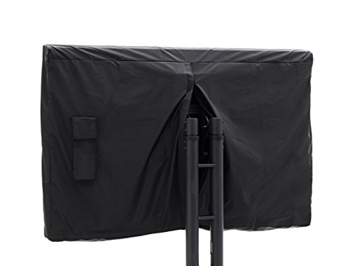 "CoverMates – Outdoor TV Full Cover – Fits 46"" to 49"" Flat TVs – 2 Year Warranty- Black"