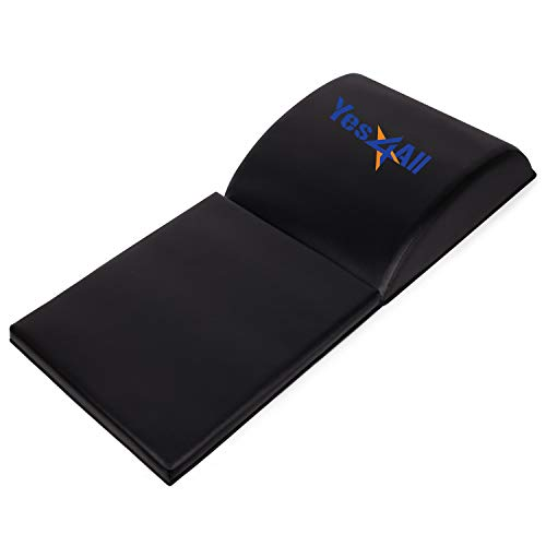 Yes4All Abdominal Exercise Mat with Tailbone Protecting Pad Full Range of Motion Ab Workouts