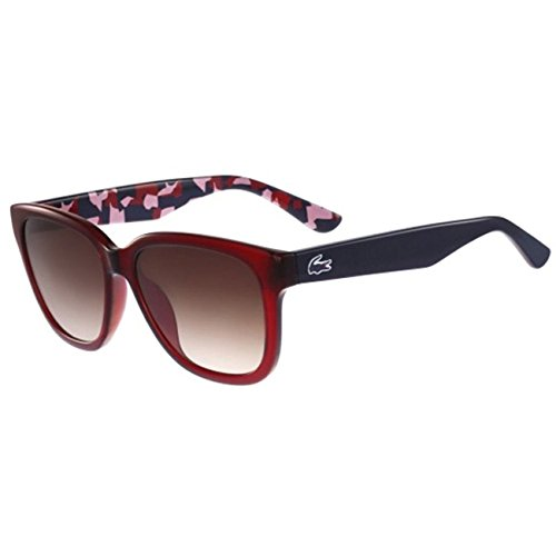 Lacoste - L796S, Wayfarer, acetate, women, RED/BROWN SHADED(615 ), - Vipers Like Pit Sunglasses