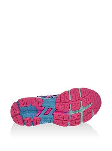 Asics Gel-Noosa Tri 11 GS - Zapatillas de Deporte Niños Cielo / Fucsia