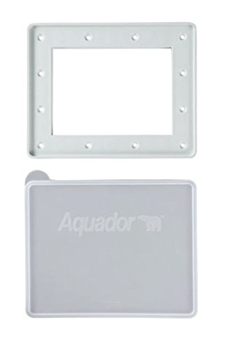 - Aquador 1084 Swimming Pool Winter In-Ground Skimmer Cover Plate Fits Hayward