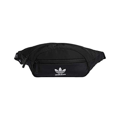 adidas Originals National Waist Pack, Black/White, One Size