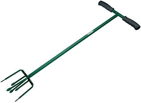 Draper Hand Cultivator Tiller Long Handled Weeder Garden Soil Tool 6 Prong Claw