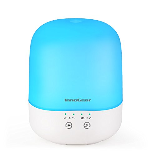 Why Choose InnoGear 300ml Essential Oil Diffuser with Touch Control and Timer