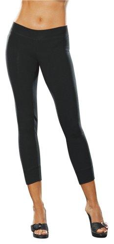 (Dreamgirl Rizzo Legging Dress, Black, Medium/Large)