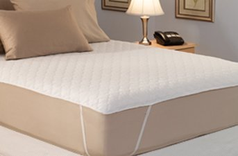 Amazon Com California King Quilted Waterbed Mattress Pad Home