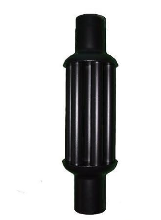 Holzofen Wasserführend Nachrüsten senotherm abgaswärmetauscher 150x1000mm schwarz energie sparen