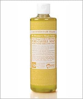 product image for Org Citrus Orange Oil Castile Soap-472 ml Brand: Dr. Bronners Magic Soap