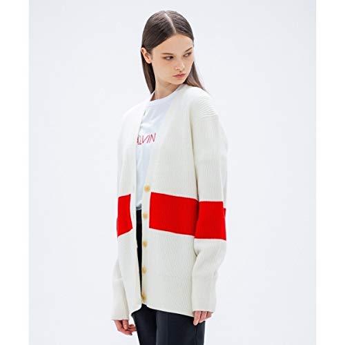 カルバン?クライン ウィメン(Calvin Klein women) 【2018AW COLLECTION】ウールポリエステル カーディガン