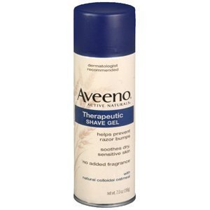 5 Pack : Aveeno Therapeutic Shave Gel with Natural Colloidal Oatmeal 7 Oz (198 G) Personal Healthcare / Health Care