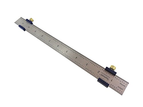 - Bundle Taytools 108881 2 Each Pair Anodized Aluminum Ruler Stops Fences and 12