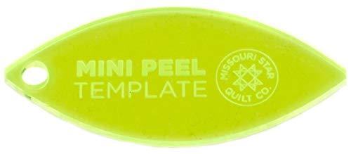 Missouri Star Mini Orange Peel Template for 2.5