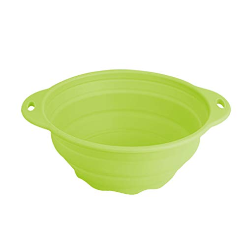 (Jovilife Silicone bowl Collapsible(Squish) Mixing Bowl,Green(9 Cups/71oz))