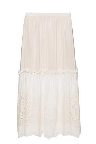 554103sma159500 Soie Mccartney Blanc Jupe Stella Femme xEq8wpRY
