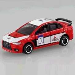 トミカあこがれの名車セレクション2 三菱ランサーエボリューションX ラリー仕様 B002QUY91I