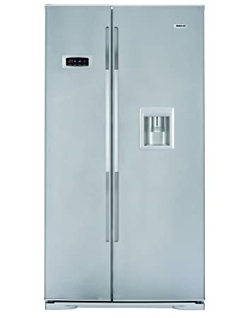 Beko GNE V222 S nevera puerta lado a lado - Frigorífico side-by ...