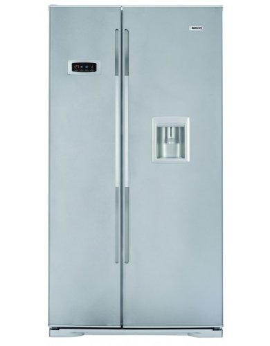 Beko GNE V222 S Side by Side Fridge-Freezer Energy Efficiency ... | {Side-by-side kühlschränke 41}