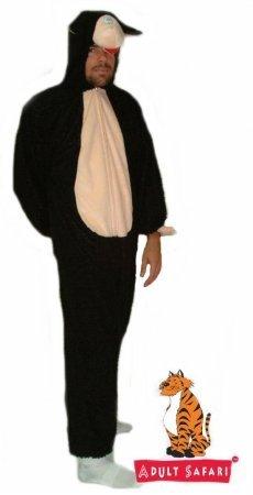 [Safari Plush Costume Sheep-Black - One Size Fits All] (Male Sheep Costume)