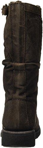 Alto Boot Scarpe Vintage Marrone 254 dark Donna W Mid Suede A Brown Collo Bikkembergs zUxYgwqw