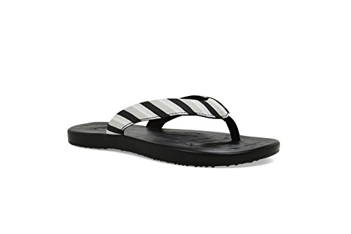 Softscience The Waterfall Stripe Comfort Casual Scarpe Da Donna Nere