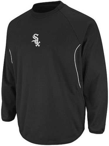 Majestic Chicago White Sox Authentic Therma Base Tech Fleece Big & Tall Sizes (5XL)