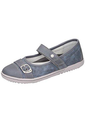 Vado Mädchen Spangenschuh Blau 530424-5 Jeans