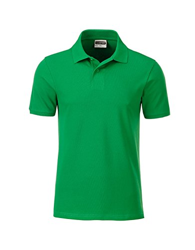 Bio Fit 2store24 Men's Casual Classic Polo green Fern qpvpnF