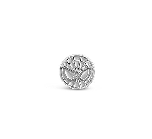 Marvel's Spiderman Bead in Sterling Silver]()