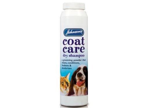 (2 Pack) Johnson's Vet - Coat Care Dry Shampoo - Drum 85g Johnson's Vet