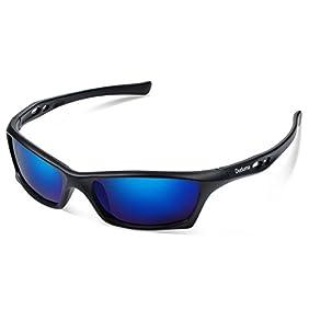 Duduma Mens and Womens Polarized Sports Sunglasses for Baseball Softball Fishing Golf Running Cycling Driving Hiking Unbreakable Shades Du649