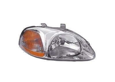 OE Replacement Honda Civic Passenger Side Headlight Lens/Housing (Partslink Number HO2519101)