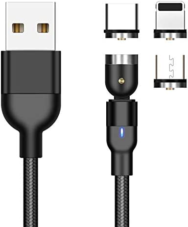 Magnet Charging Cable USB Type-C Micro USB for Barnes /& Noble Nook Tablet 10.1 Jet Black MagnetoSnap AllCharge Cable BoxWave Barnes /& Noble Nook Tablet 10.1 Cable