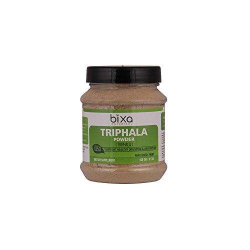 Triphala Powder – 100g / 3.5 Oz (Haritaki, Bibhitaki & Amalaki) - Natural Anti-Oxidant | Ayurvedic herbal supplement for Blood purifier, Strengthening thehair roots, healthy digestion & absorption