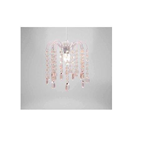 Droplet gem pink chandelier hwp152900 amazon lighting droplet gem pink chandelier hwp152900 mozeypictures Gallery