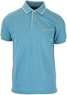 Loro Piana Fashion Man FAI04857192 Light Blue Cotton Polo Shirt | Spring Summer 20