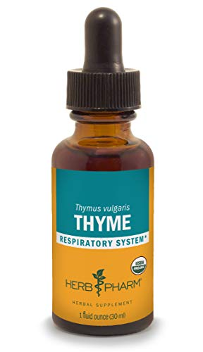 (Herb Pharm Certified Organic Thyme Liquid Extract for Respiratory System Support - 1)