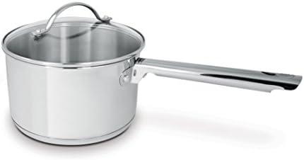 Cuisinox POT-DE20 Deluxe Covered Saucepan, 3.6-Liter