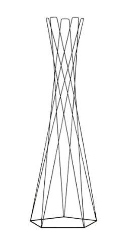 Cascando Basket Negro Perchero Stand Perchero 1064.b diseño ...