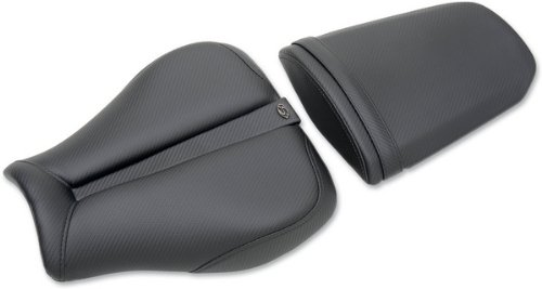 Piece Solo One Seat (Saddlemen Track One Piece Solo Seat Black/CF for Honda CBR1000RR 2008-2010)