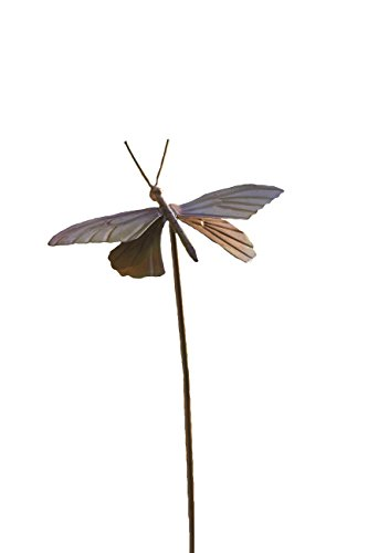 Ancient Graffiti Flamed Butterfly Garden Stake, 6.5 by 4.5 by 29-Inch by Ancient Graffiti