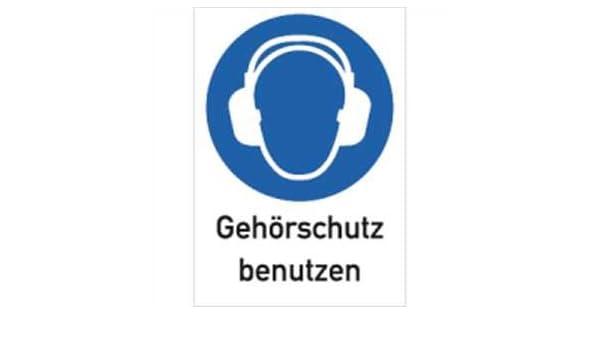 Protección auditiva de tambor 29,7 x 21 cm de la placa de ...