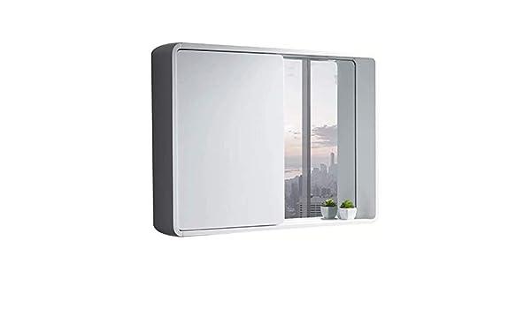 KSW_KKW Radial diseño Moderno Baño Espejo con Bastidores de Pared Push-Pull Espejo Gabinete (Tamaño: 80 * 14 * 65cm, 90 * 14 * 65 cm) (Size : 90 * 14 * 65cm): Amazon.es: Hogar