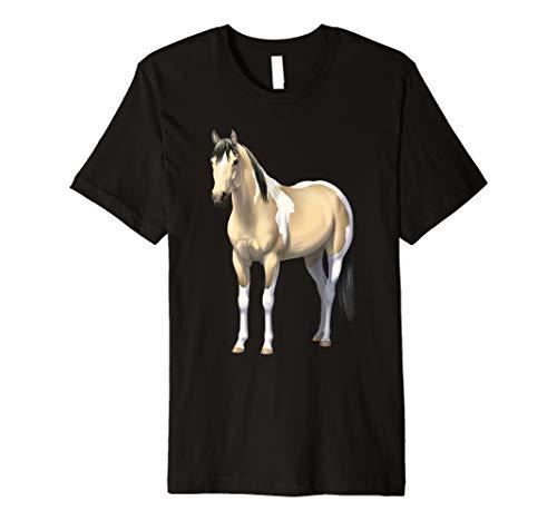 Buttermilk Buckskin Pinto Quarter Horse Paint Horse Premium T-Shirt ()