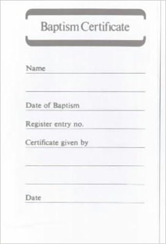 Baptism certificate book b5 48 amazon church of england baptism certificate book b5 48 amazon church of england 9780281023929 books yadclub Choice Image