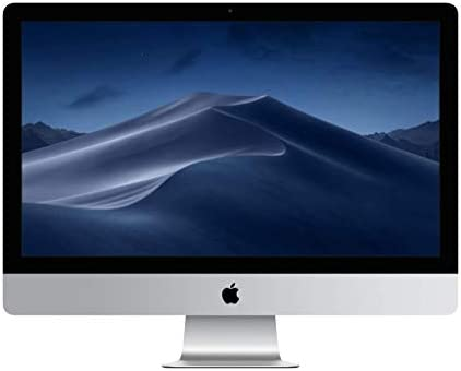 Apple 27 inch display 8th generation processor product image